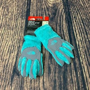 The North Face Girls E-Tip  Denali Gloves M NWT